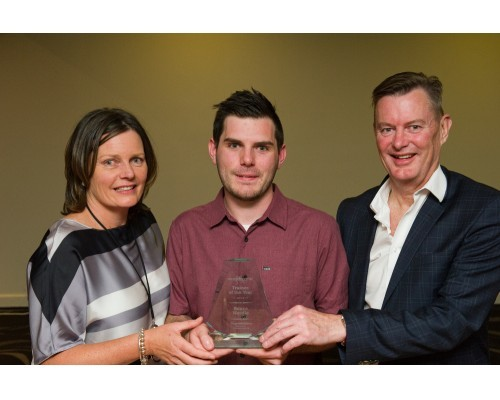 Reece Wardle - Trainee of the Year